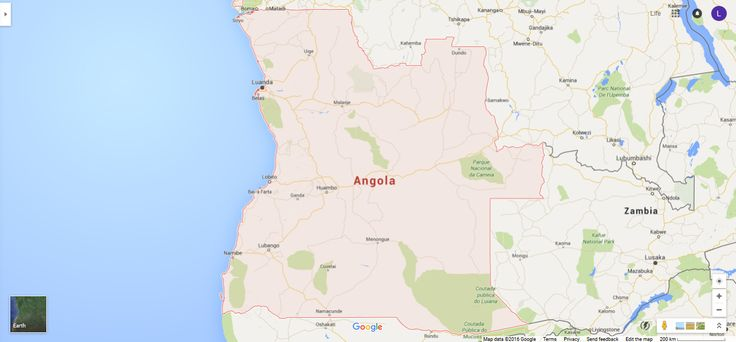 #AngolaMap #Angola #Map