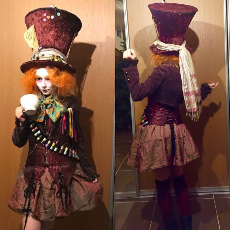 Alice in wonderland, mad hatter, costume, femal
