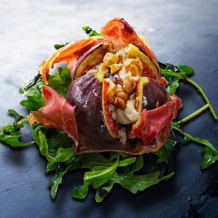 Figure this - Fig baked with Parma ham, goat cheese ...