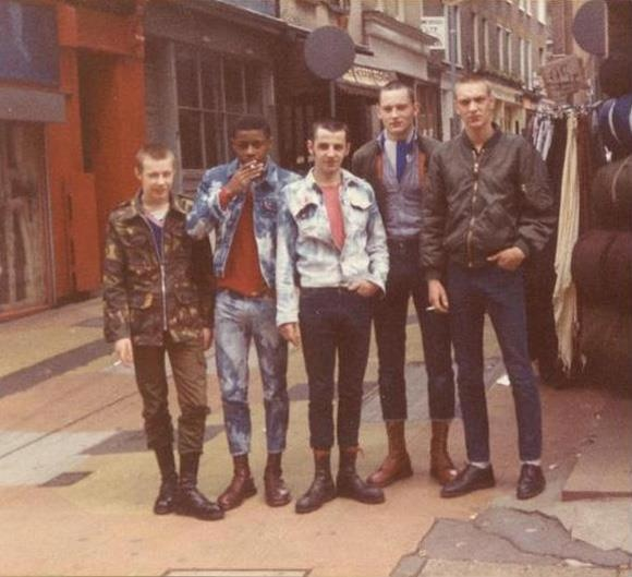 Skinheads come in all colors!