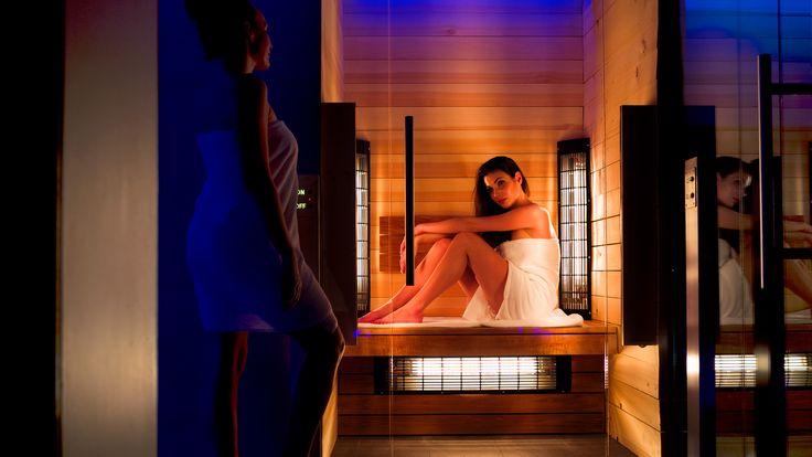 Lemon Resort SPA-sauny.