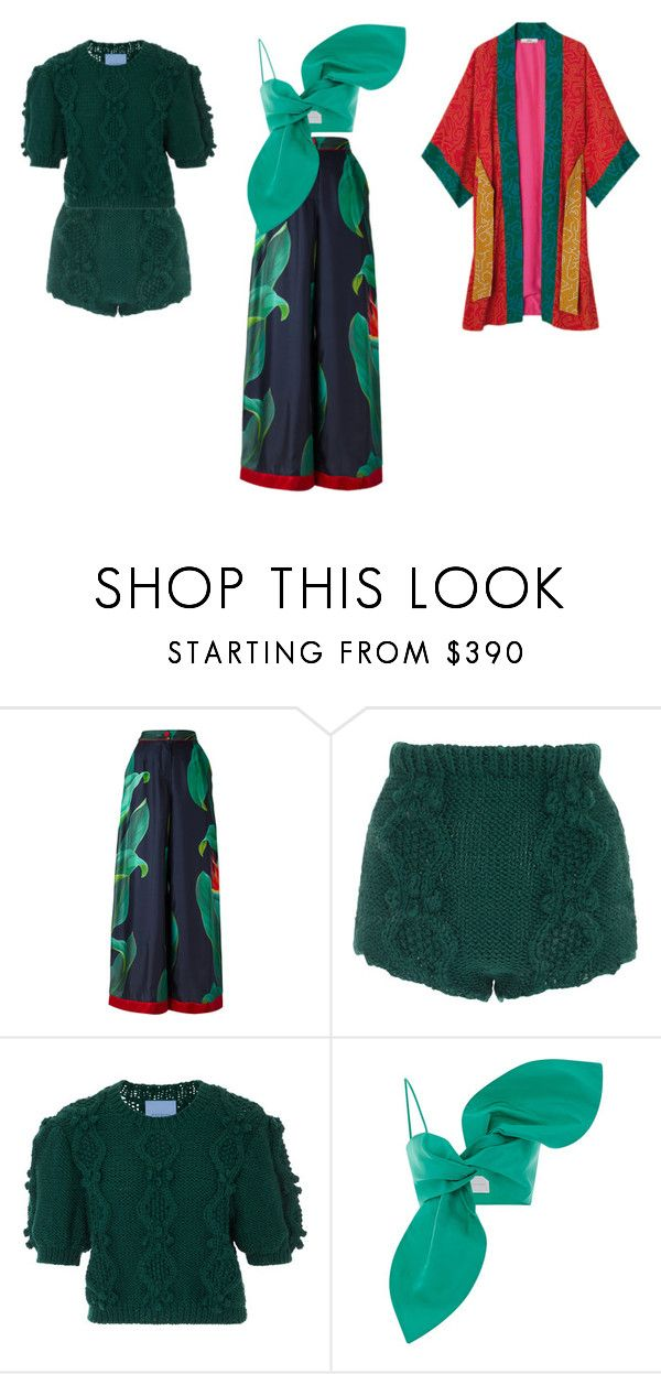"""green style"" by anaunderground on Polyvore featuring moda, F.R.S For Restless Sleepers, macgraw e Leal Daccarett"