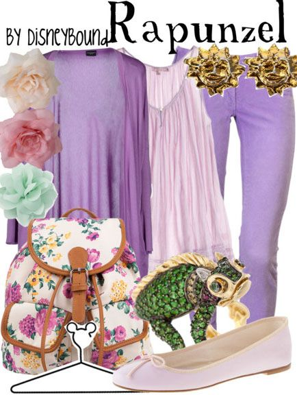 Rapunzel - I really feel like this captures her personality. And it looks comfortable, too.