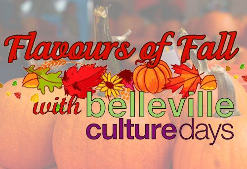 Flavours of Fall Festival Saturday, September 26, 2015 from 10am-2pm on Bridge Street in Downtown Belleville