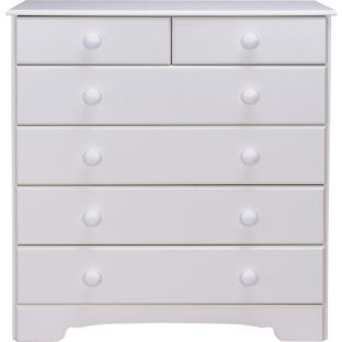 buy nordic 4 2 drawer chest white at your. Black Bedroom Furniture Sets. Home Design Ideas