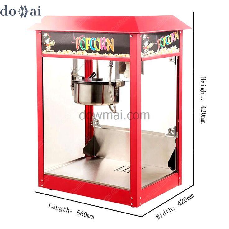 new commercial popcorn machine heathy popcorn maker