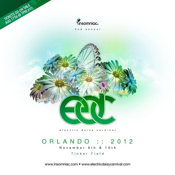 EDC Orlando 2012 at Tinker Field