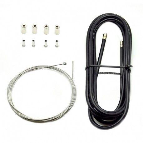 Kit câble et gaine de dérailleur pour vélo