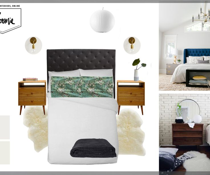 Bedroom makeover: from dark and dated to light and lovely - Homes To Love