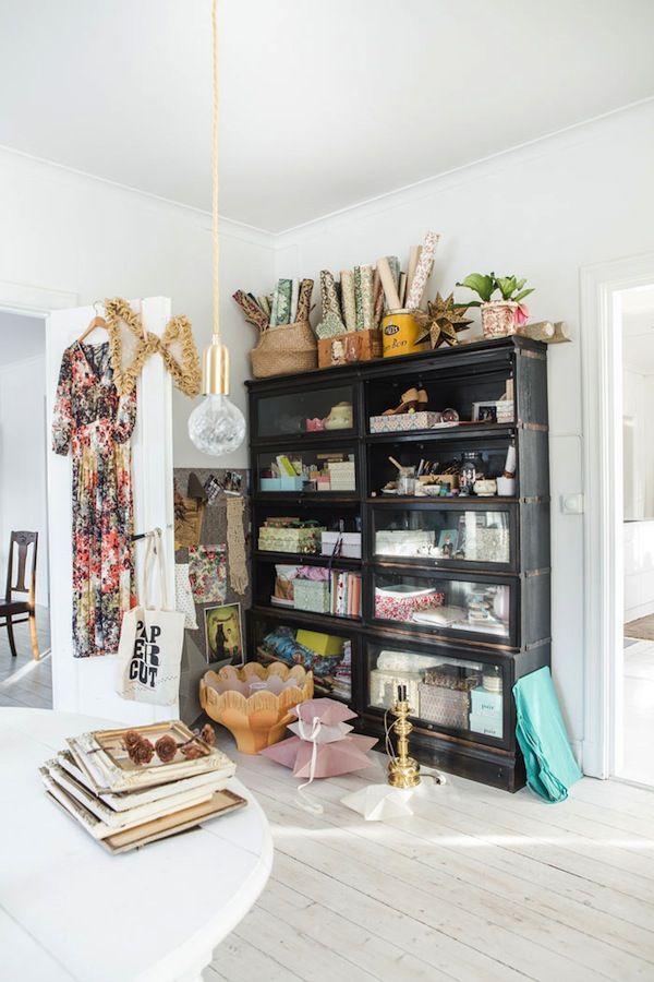 A lovely light-filled Swedish family home of Sofia Jansson, Mokkasin.