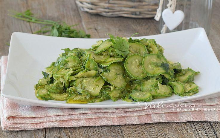 Zucchine trifolate ricetta