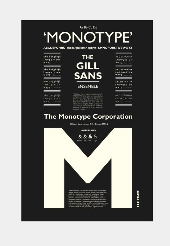 The Gill Sans Ensemble - product images  of