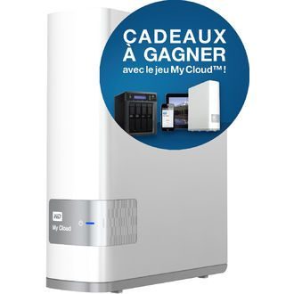 My Cloud - 3 To  disque dur externe WESTERN DIGITAL