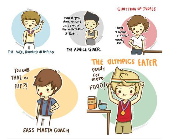 Cute One Direction Cartoons | Chapter 41: Cute One Direction Cartoons (2) | Miss Literati