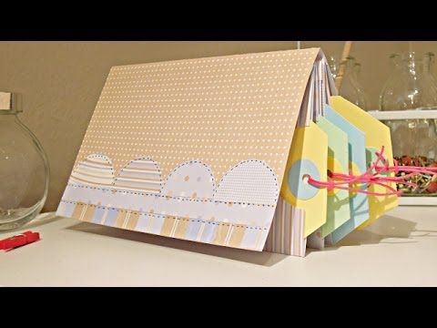 Tutorial: Mini-album para TAGS - ¡Pega, papel o tijeras!
