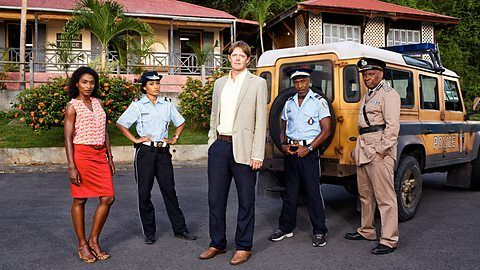 Death in Paradise Drama about criminal investigations on the Caribbean paradise island of Saint-Marie.