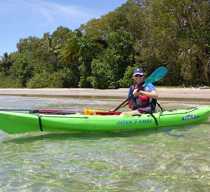 Would it be a good story if you could tell your friends that you have kayaked in the Great Barrier Reef?!?!