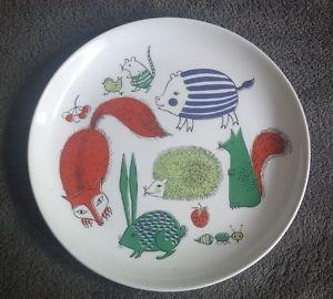 Old Arabian plate Nooan arkki; Noah's ark.