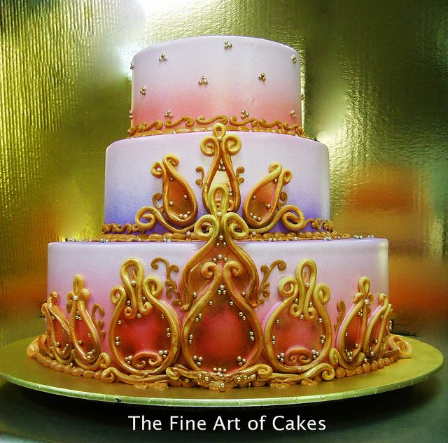 indian wedding cakes | Indian Inspired Wedding Cake | Flickr - Photo Sharing!