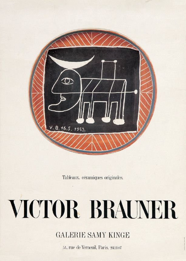 Brauner, Victor - Galerie Samy Kinge