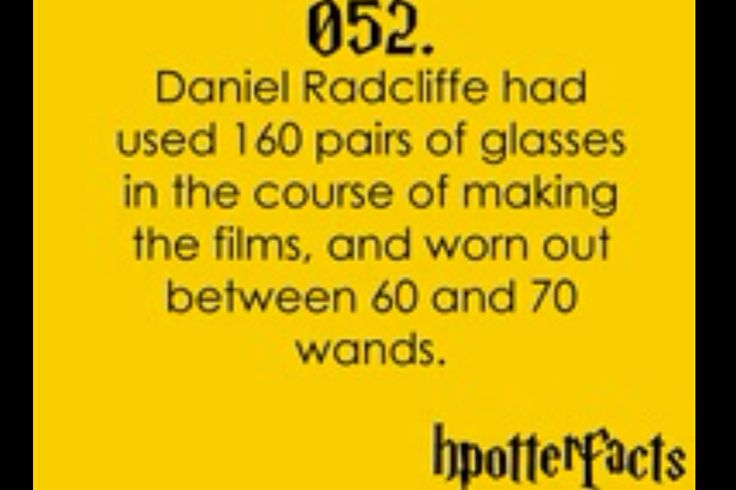 Harry Potter Fact 052