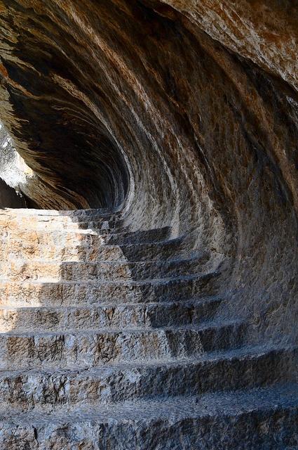 Amasya Turkey. Pontic Tombs of the Kings.  photo by Angel Lohez