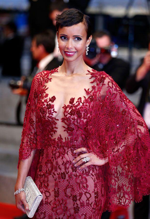 Sonia Rolland in Zuhair Murad- 'Timbuktu' Cannes Film Festival Premiere