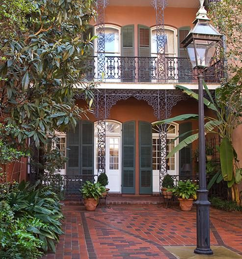 New Orleans French Quarter home
