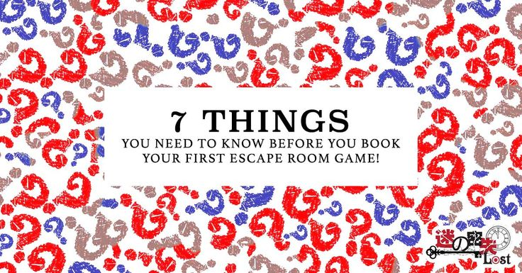The essential guide to read before you make your FIRST escape room booking! http://lost.sg/ #lostsg #escaperoom #escaperoomsg