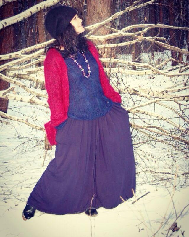 Эта фотосессия была сделана для бренда вязаной одежды Loris handmade