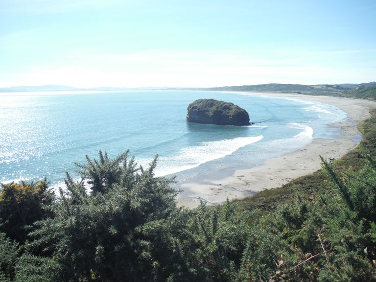 Seaside near Ancud, Chile