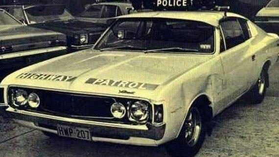 Hey Charger. NSW police car 1970s