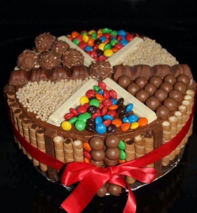 Chocolate Candy Cake Images : Chocolate Candy Cake Goodies and Treats Pinterest