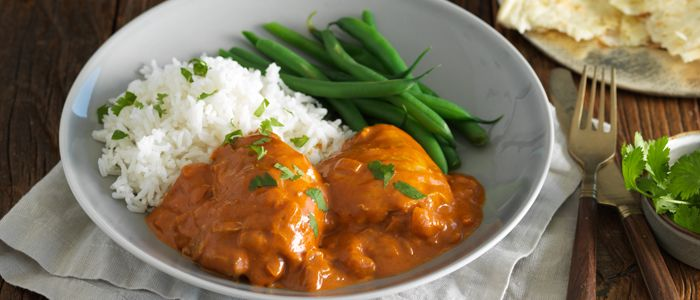 Week Night Butter Chicken recipe from Food in a Minute