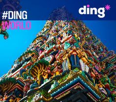 Can you guess where in the world this amazing building is? #dingworld www.ding.com