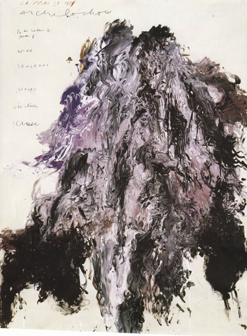 Cy Twombly, Untitled.
