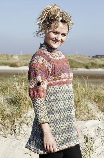 Stjernetrøje pastel - Christel Seyfarth