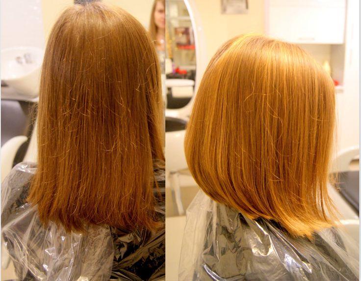 Refleksy i strzyżenie. #hairstyle #fryzury
