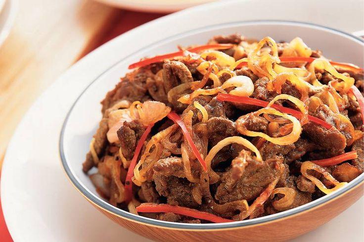 Dengdeng pedis - pittig rundvlees - Recept - Allerhande