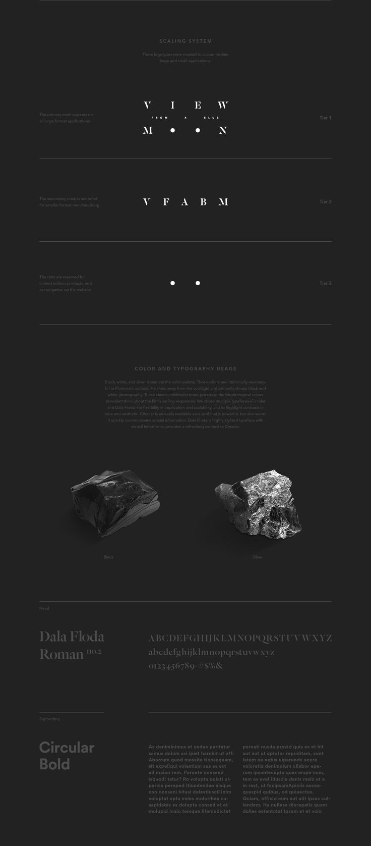 View From A Blue Moon on Behance