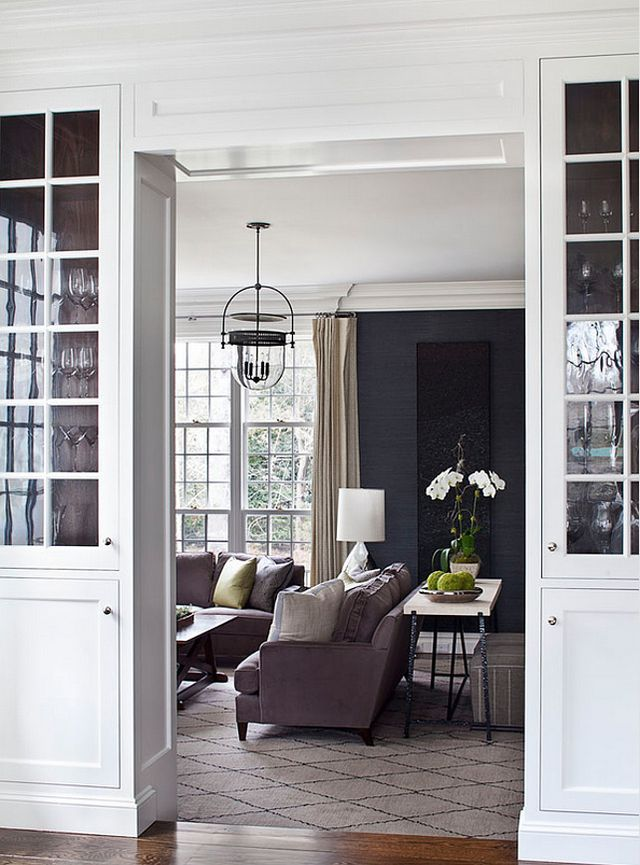 Exquisitely renovated by Alisberg Parker Architects, this Georgian colonial features classic interiors with a transitional twist that certainly feel fresh to the eyes. Beautiful paint colors mix wit