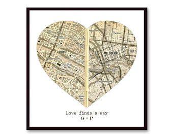Carte personnalisée cadeau pour petit ami, mari cadeau, carte sépia Art, cadeau d'anniversaire, cadeau de relation longue Distance, pour lui, cadeau romantique