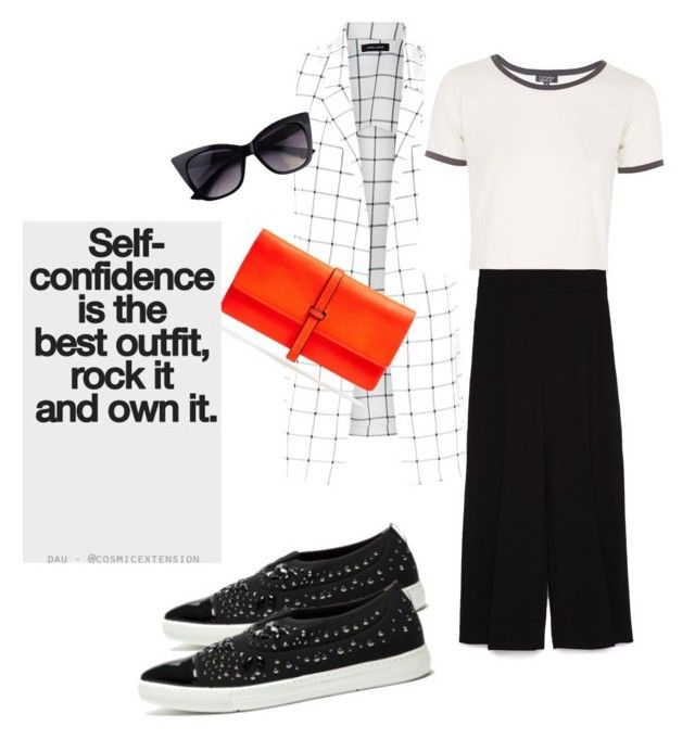 Be yourself and enjoy it! by sheiscarla on Polyvore featuring polyvore, fashion, style, Topshop, Zara, Alberto Guardiani, Fratelli Karida, Annabel Ingall, women's clothing, women's fashion, women, female, woman, misses and juniors
