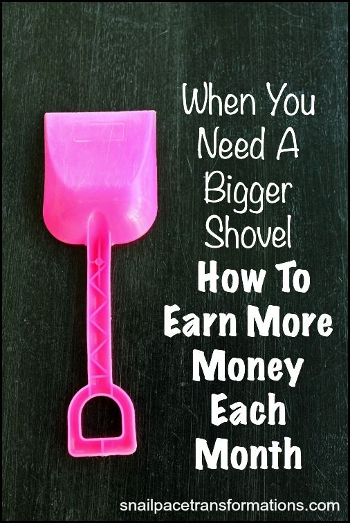 If you are doing all the saving money tips out there and still just getting by chances are you need more income coming in every month to really get ahead. Here are 7 ways to earn more money without gaining another boss.