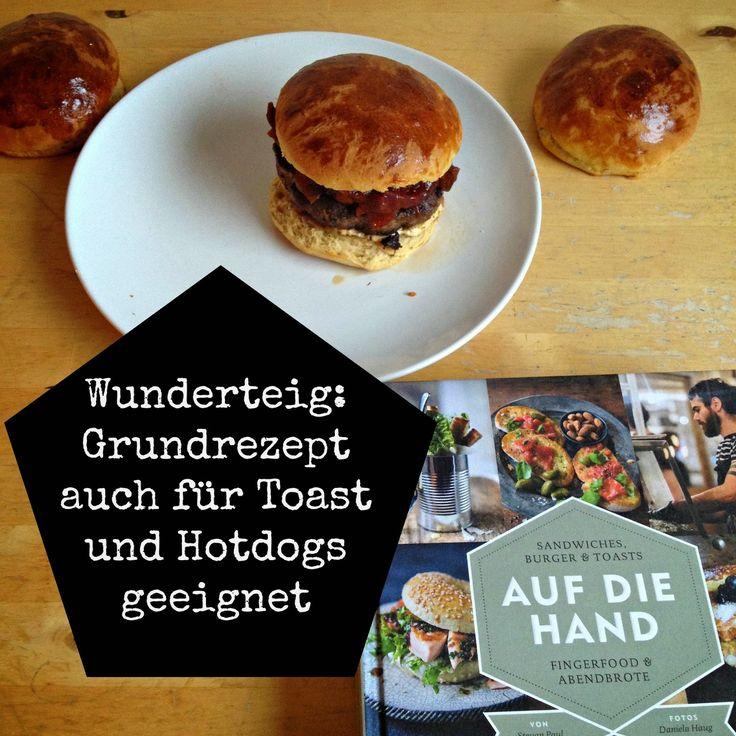 HEDI: Burgerliebe: Rezept für Burger Brötchen (buns)