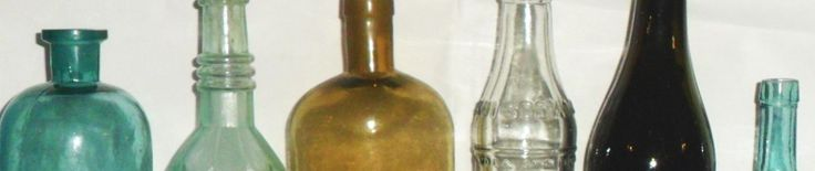 GLASS MANUFACTURERS' MARKS ON BOTTLES & OTHER GLASSWARE~~ PAGE THREE