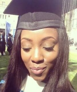 Photos: 25yr old Nigerian girl who just returned from the UK dies in horrible car accident in Lagos   Beautiful 25 year old Doyin Sarah Fagbenro who recently completed her First and Second degrees in Law in the UK and relocated back to Nigeria after spending most of her life there died in a fatal accident along Lekki-Epe expressway in Lagos which was caused by a reckless Danfo driver. Her cousin Ken Davidson took to his Facebook page to pay her a heartfelt tribute. It's such a sad read. Read…