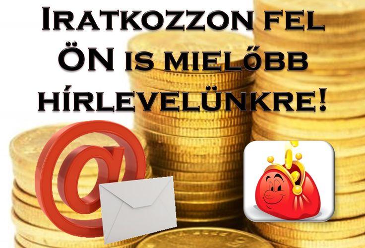 Szeretne értesülni az Inlernet-Rendszerrel és a Vásároljunk Okosan! weboldallal kapcsolatos hírekről? Örülne, ha a legfrissebb információkat hetente egyszer, összegyűjtve elküldenénk Önnek e-mailen?  Iratkozzon fel Ön is mielőbb hírlevelünkre!  http://www.vasaroljunkokosan.hu/hirlevel/