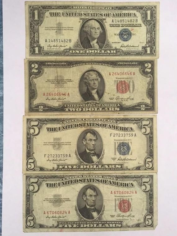 Five Dollar Bill With Red Ink : dollar, Label, Dollar, Labels, Ideas