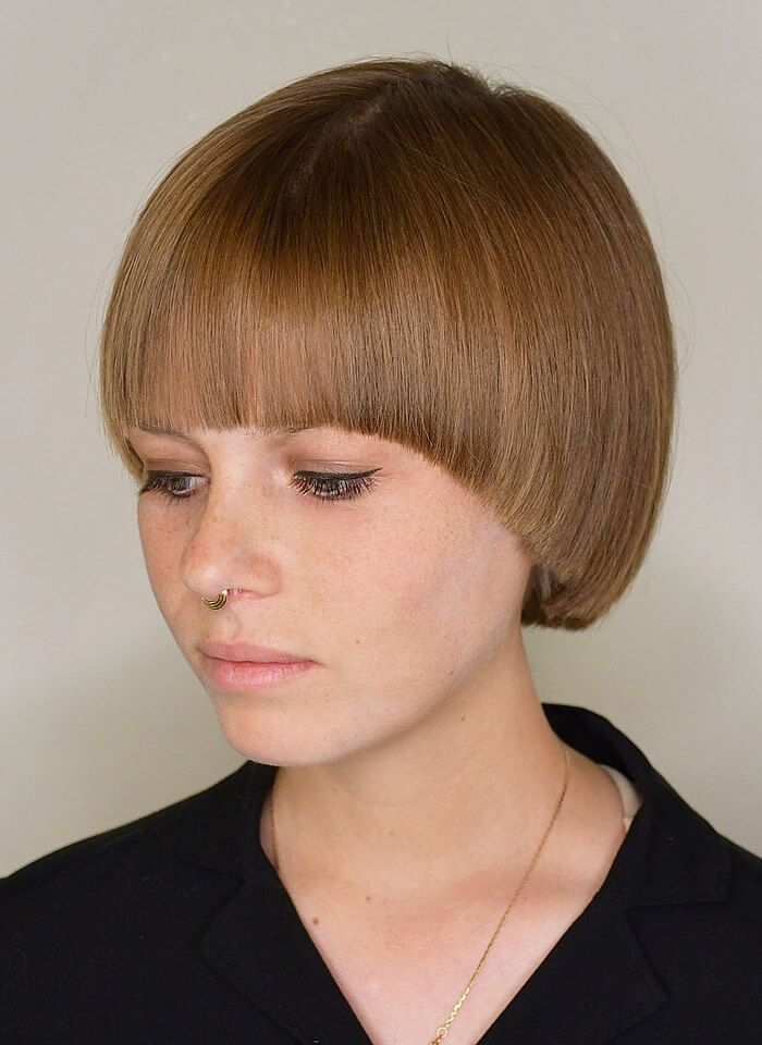 20 Unique And Creative Bowl Haircuts For Women Haircuts Hairstyles 2021 Short Hair Styles Bowl Haircuts Pageboy Haircut